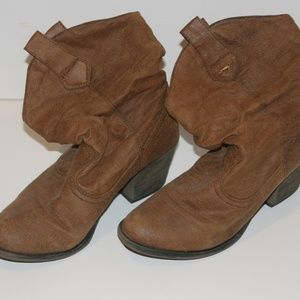 Rocket Dogs Brown Slouch Boots
